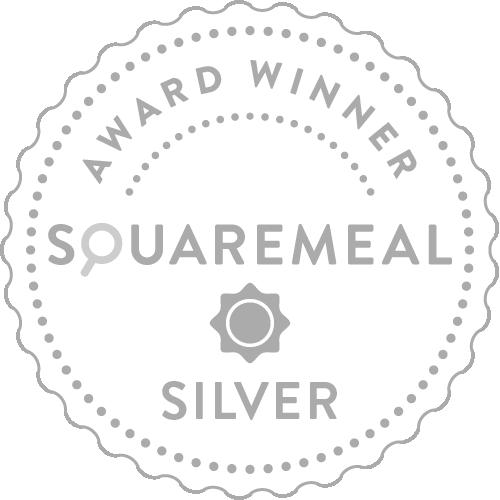 SquareMeal Silver Award Winner
