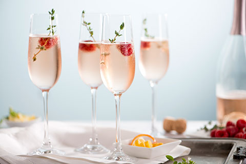 Prosecco based cocktails