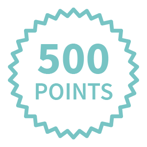 Concierge service - get 500 reward points