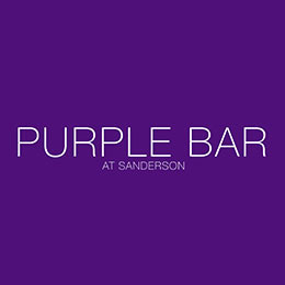 Purple Bar at the Sanderson